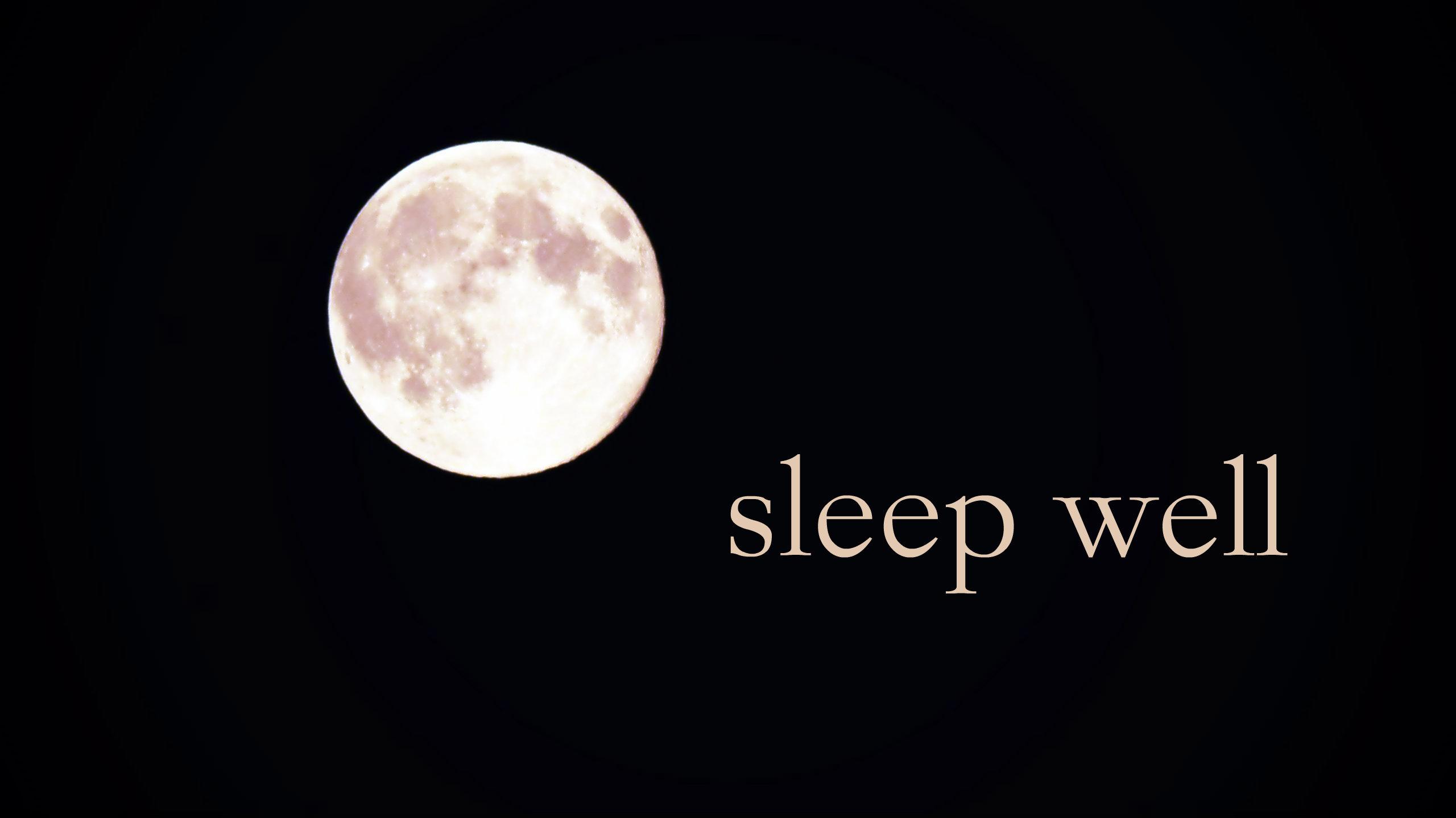 Ein Programm für besseren Schlaf